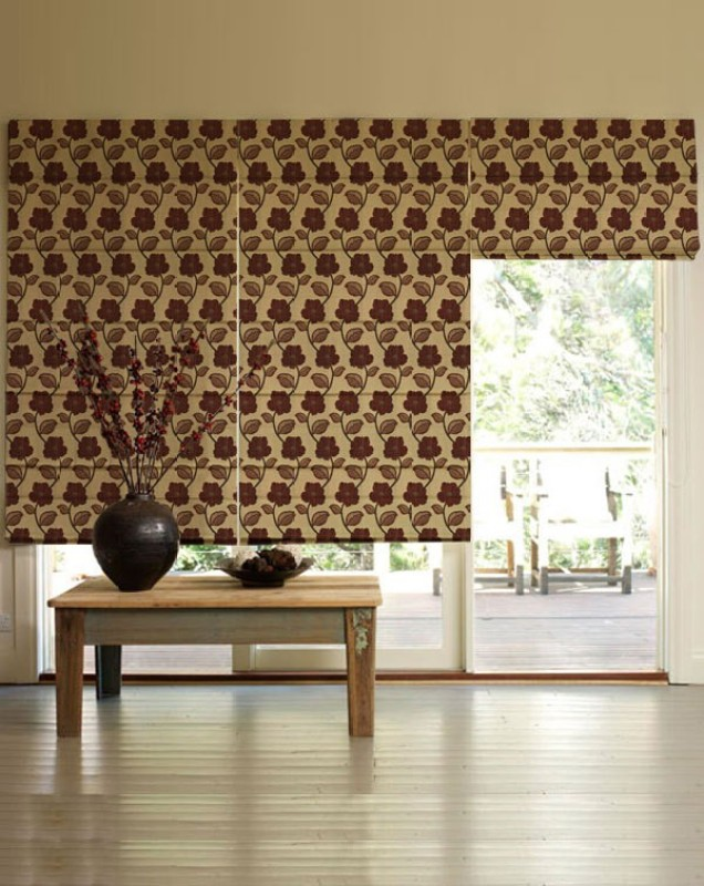 Presto Roman Blind Cord Drawn(Polyester, Cloth)