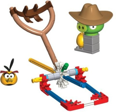 K,Nex Angry Birds Bubbles Versus Medium Minion Pig Building Set
