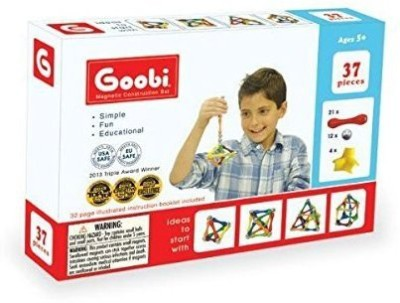 Goobi 37 (37 Pieces) Magnetic Construction Set