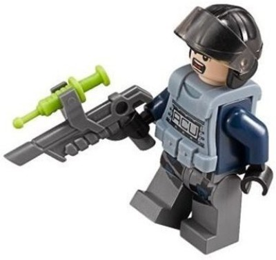 Lego Jurassic World Acu Mini W/ Helmet