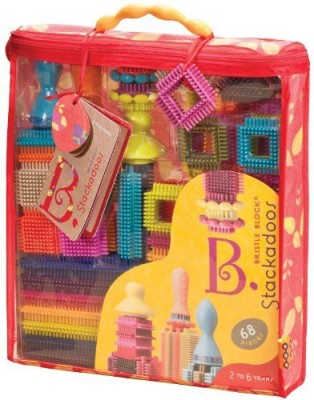 B. Toys Stackadoos, 68 Pieces