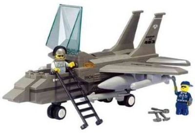 Sluban Air Force F15 Fighter Jet 142 Pieces Lego Compatible