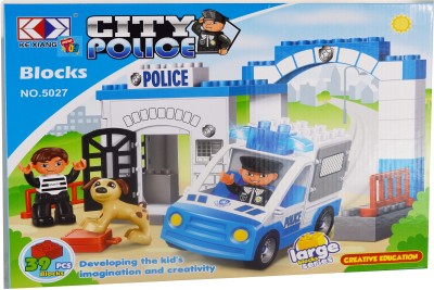 Mera Toy Shop City Police 39 pcs