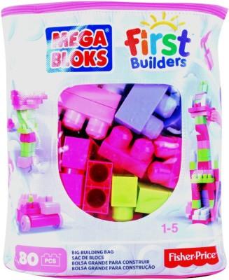 Barbie Mega Bloks First Builders Big Building Bag Girls