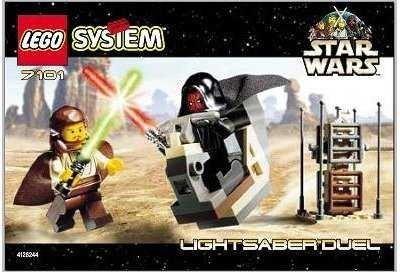 Star Wars Lego 7101 Lightsaber Duel