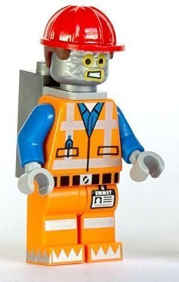 Lego Movie Robo Emmet Mini (Robot Tinfoil Disguise)(Multicolor)