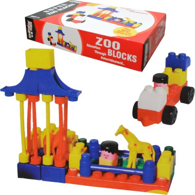 Kreative Kids Super Zoo Blocks - Education Through Entertainment -Age 3+