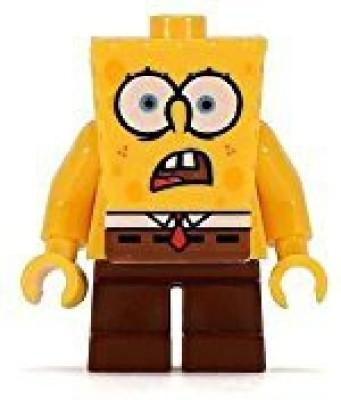 Lego Spongebob Squarepants Shocked Look From Chum Bucket (4981)