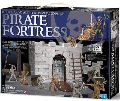 Toysmith Brick Making And Pirate Fortress Building Kit Pirate