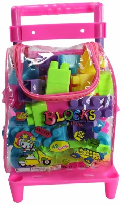 Planet of Toys Learning Building Blocks (42 Pcs)