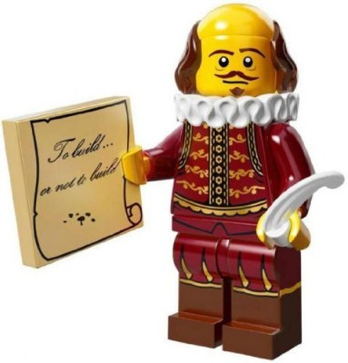 LEGO Movie The William Shakespeare Mini Series 71004(Multicolor)