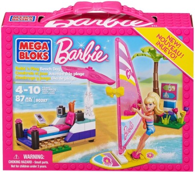 Mega Bloks Mega Bloks Barbie Beach Day
