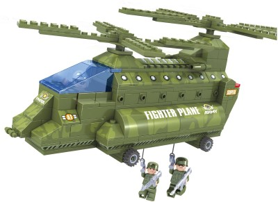Funblox Army Guard War Bolcks (Fighter Plane. Soldier)22602