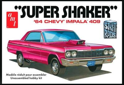 AMT USA 1/25 Scale ,64 Chevy Impala 409