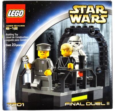 Star Wars FINAL DUEL II with Walkway on the Second Death Star Plus Luke Skywalker as Jedi Knight