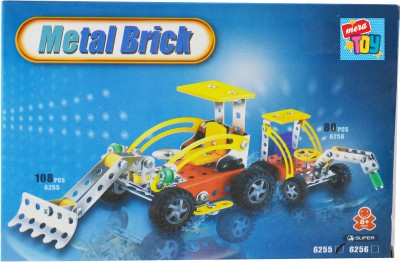 Mera Toy Shop metal diy truck playset(Multicolor)