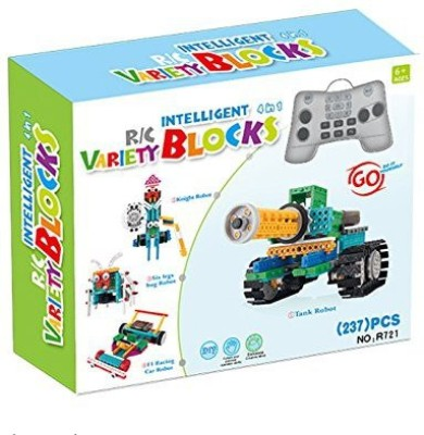 Unigear 4In1 Educational Remote Control Rc Roberts Buildingkit Sets