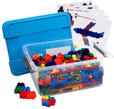 Morphun Jr Starter Rainbow 300 Piece Construction Mega Pack