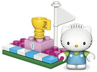 Hello Kitty Mega Bloks Dear Daniel Winners Circle And Accessory Set