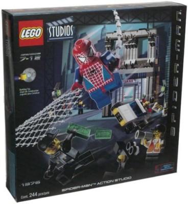 Lego Spiderman 1376 Spiderman Studio