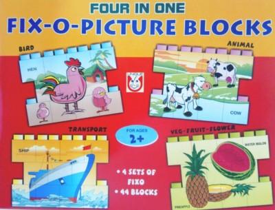 Unique Creations FIX- O-PICTURE BLOCKS (4 in 1)