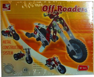 TOY KRAFT Metal Construction System - Off Roaders