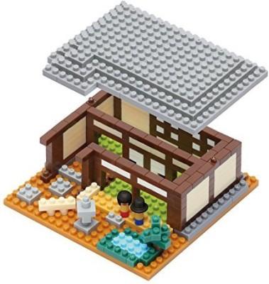 Kawada Nanoid Japanese House Nano Building Kit