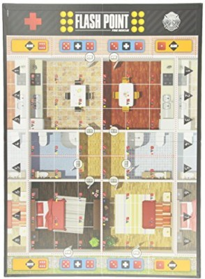 Indie Boards & Cards Flash Point Fire Rescue Urban Structures