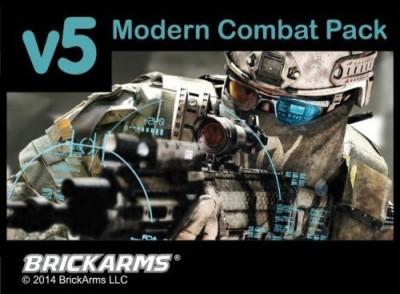BrickArms Modern Combat Pack V5