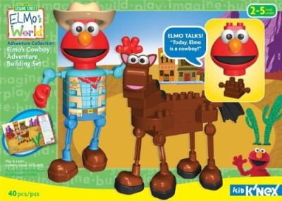 K,Nex Kid Elmo,S Cowboy Adventure Building Set
