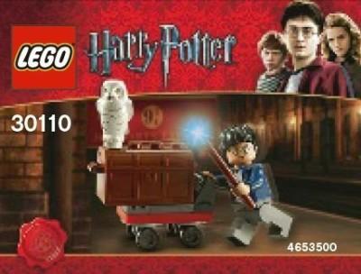 Harry Potter Lego Mini Set 30110 Trolley Bagged