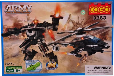 Mera Toy Shop Robot Construction Set -337 Pcs