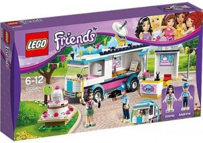 Friends Lego Set 41056 Heartlake News Van