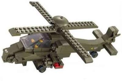 Sluban Hind Helicopter 199 Pieces Buildinglego Compatible