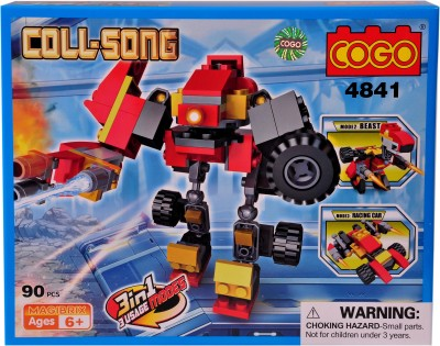 Mera Toy Shop Robot Construction Set -4841