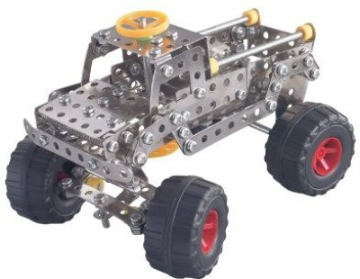 Nuts & Bolts Monster Truck(Multicolor)