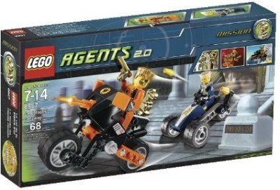 Lego Agents Gold Tooth,S Getaway (8967)