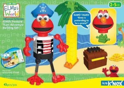 K,Nex Kid Elmo,S Treasure Hunt Adventure Building Set