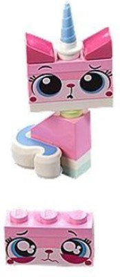 Lego Movie Mini Sad Unikitty(Pink)