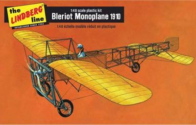 Lindberg USA 1/48 Scale Bleriot Monoplane 1910 Plastic Model Kit