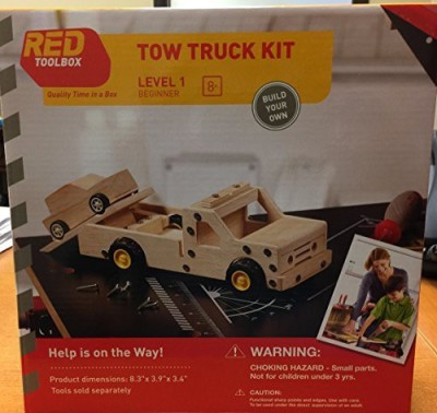 Red Toolbox Red Tool Box Tow Truck Building Kit
