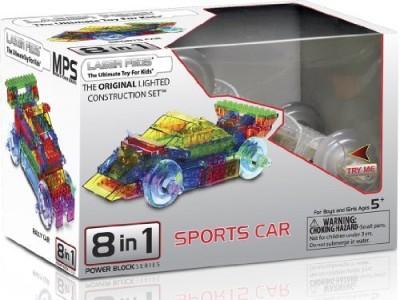 Laser Pegs Power Car