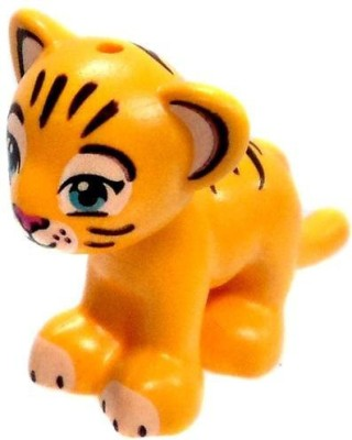 Harry Potter Lego Loose Animal Yellow Tiger Cub [Printed Face]