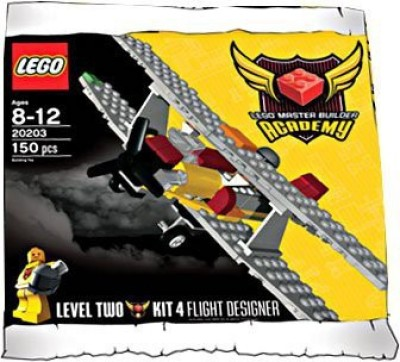 Lego Master Builder Academy Set 20203 Mba Flight Designer Kit