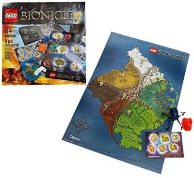 Bionicle Lego Year 2015 Series Hero Pack Set 5002941