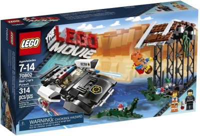 Lego Lego Movie 70802 Bad Cop S Pursuit(Multicolor)