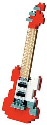 Kawada Nano Nbc_037 Electric Guitar (Red) Building Kit