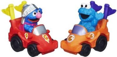 Sesame Street Playskool Racers (Super Grover and Cookie Monster)