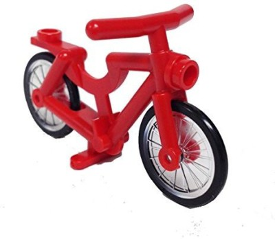 Lego Parts Bicyclecomplete Assembly (Red)