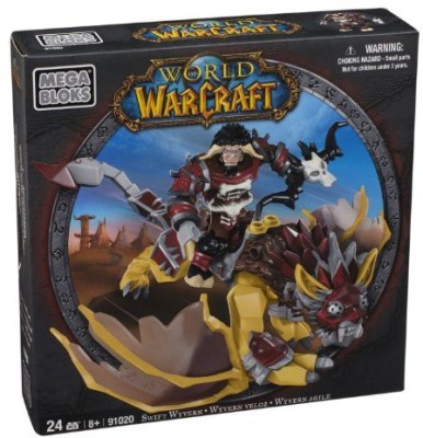 Mega Bloks World Of Warcraft Swift Wyvern And Scarbuck